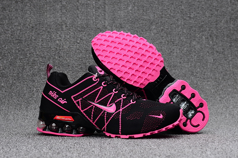 Nike Shox T160 Max Women Shoes Black Pink